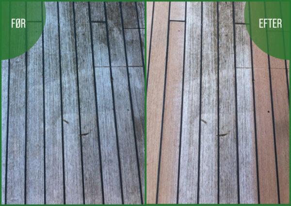 Revoco terrasserens plankegulv